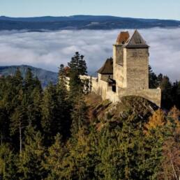 hrad kašperk, zábava, výlet