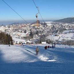 skiareal kašperské hory, lyže, rekreace