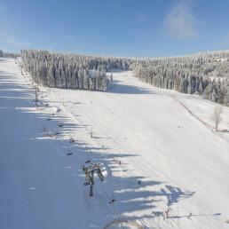 zadov, ski areal, lyže, rekreace, odpočinek